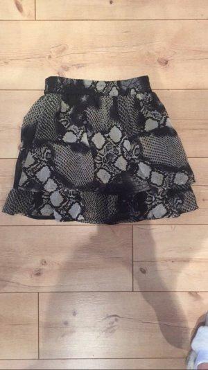Vero Moda Gelaagde rok zwart-grijs