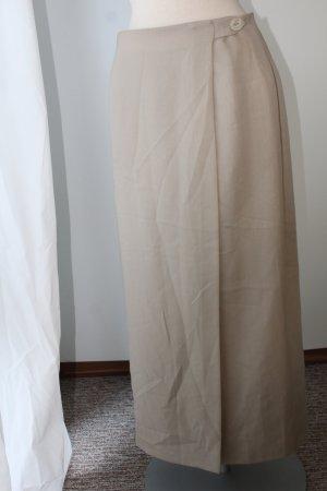 Marks and Spencer Wraparound Skirt sand brown