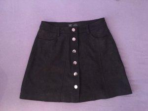 Zara Trafaluc High Waist Skirt black
