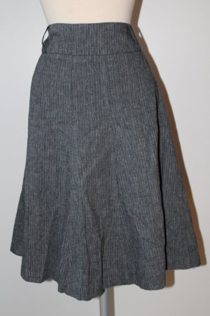 Atmosphere Flared Skirt dark blue-white