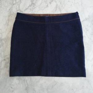 Marc O'Polo Wollen rok blauw-donkerblauw Wol