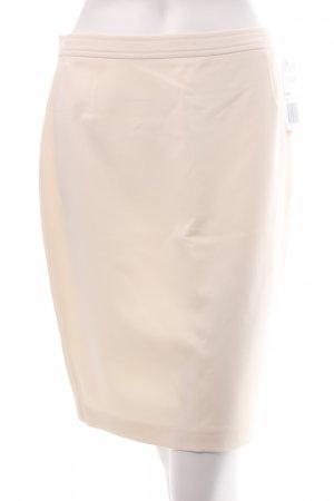 Skirt natural white classic style