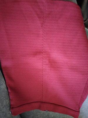 Zara Woman Falda Tweed burdeos