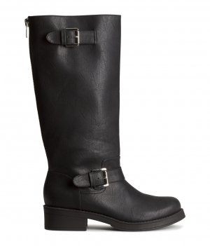 #Rockabilly #Bikerboots von #Divided H&M Gr.39