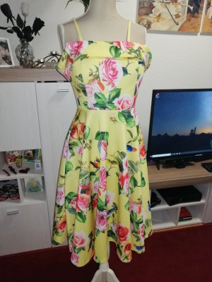 Off-The-Shoulder Dress yellow