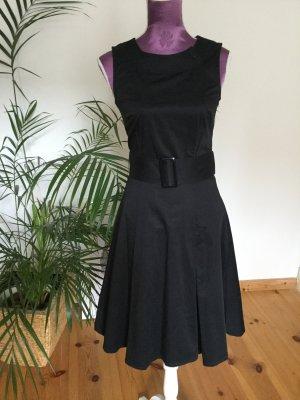 H&M Petticoatjurk zwart Katoen