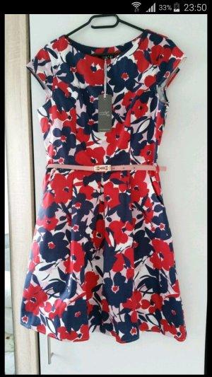 I Code Petticoat Dress multicolored