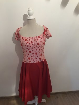 Petticoat Dress red