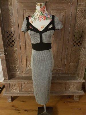 Asos Midi-jurk wit-zwart
