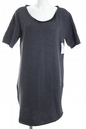 Rockamora Short Sleeve Sweater grey minimalist style