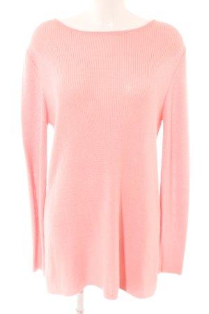 Rockamora Rundhalspullover pink Casual-Look