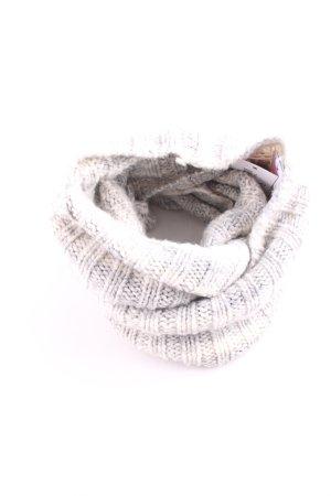 Rockamora Tube Scarf white-light grey striped pattern casual look