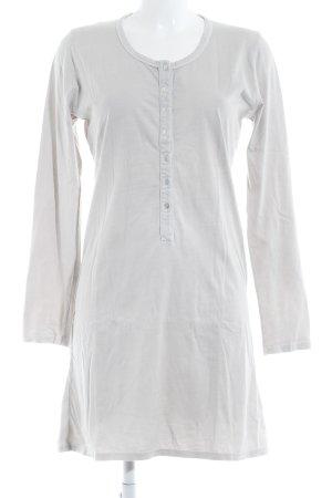 Rockamora T-shirt jurk licht beige casual uitstraling
