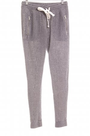 Rockamora Sweat Pants dark blue-white flecked athletic style