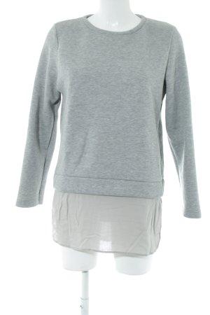 Rockamora Sweatshirt hellgrau meliert Casual-Look