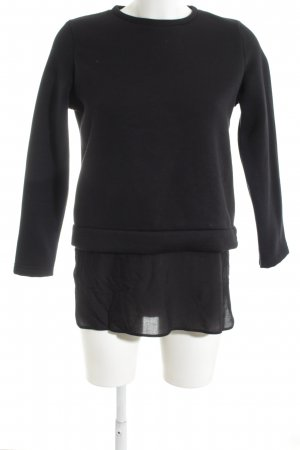 Rockamora Sweatshirt schwarz Casual-Look