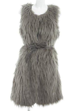 Rockandblue Vest van imitatiebont grijs straat-mode uitstraling