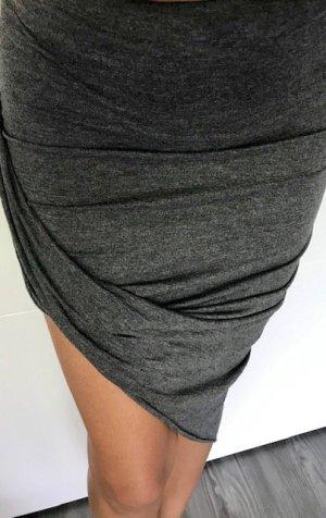 Kendall + Kylie High Waist Skirt grey