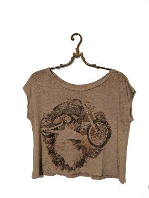 Rockerlook Shirt braun
