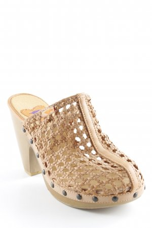 Rocket dog Heel Pantolettes beige Boho look