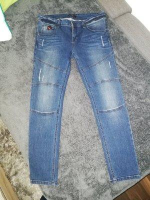 Rockgewitter Skinny jeans donkerblauw