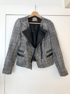 Orsay Knitted Blazer black-white