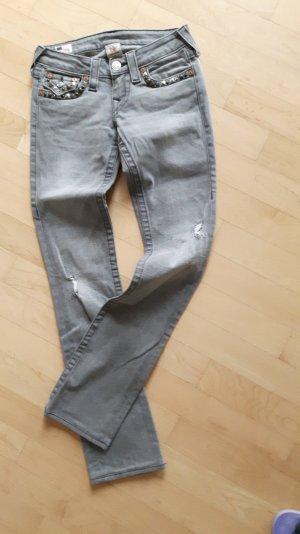 Rockige Jeans mit Nieten von True Religion