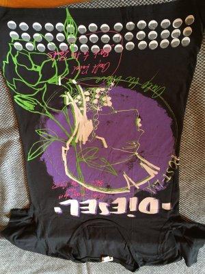 rockiges Dieselshirt mit auffälligem Print