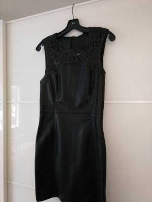 Only Leather Dress black