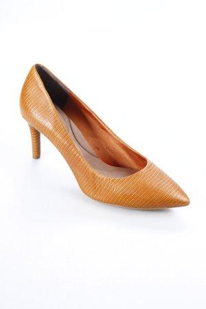Rockport High Heels cognac-coloured elegant
