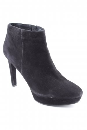 Rockport Platform Booties black casual look