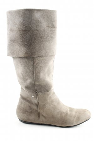 Rockport Wide Calf Boots light grey casual look