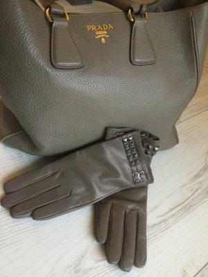 Rockstud nieten Handschuhe , neu, Größe L