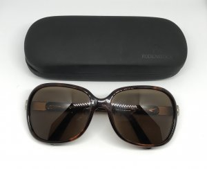 Sunglasses brown-gold-colored