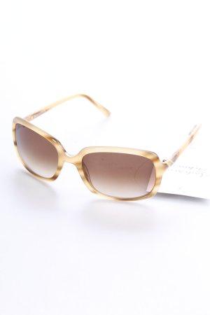 Rodenstock ovale Sonnenbrille beige Street-Fashion-Look