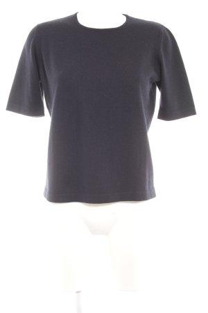 Rodier Strickshirt dunkelblau Casual-Look