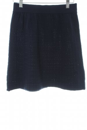 Rodier Wollen rok donkerblauw casual uitstraling