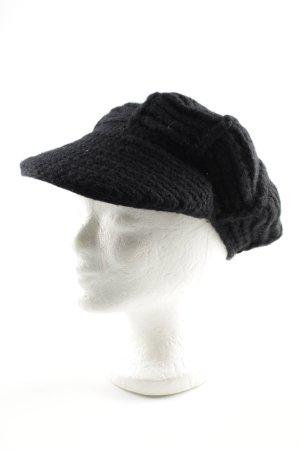 Roeckl Baker's Boy Cap black casual look