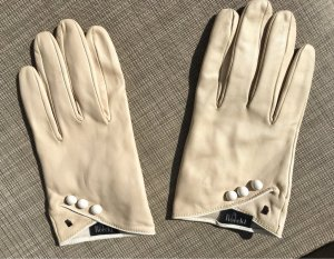 Roeckl Evening Gloves natural white leather