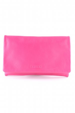 Roeckl Clutch magenta-orange Casual-Look
