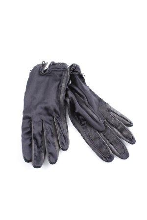 Roeckl Guantes con dedos negro elegante