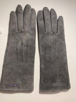 Roeckl Guantes con dedos gris