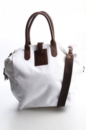 Roeckl Carry Bag white-brown simple style
