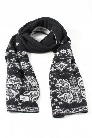 Roeckl Cravatta casual nero-bianco motivo astratto stile casual