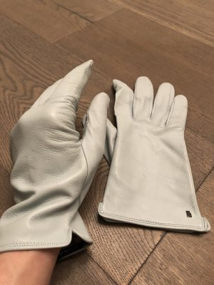 Roeckl Leather Gloves pale blue