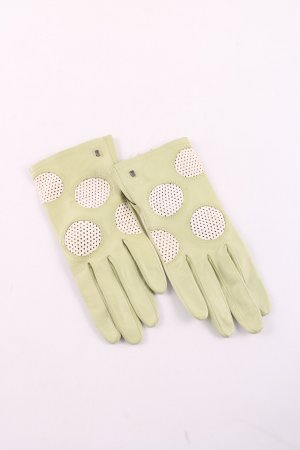Roeckl Leather Gloves green elegant