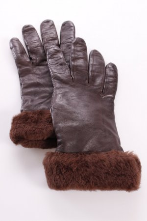 Roeckl Leather Gloves brown red