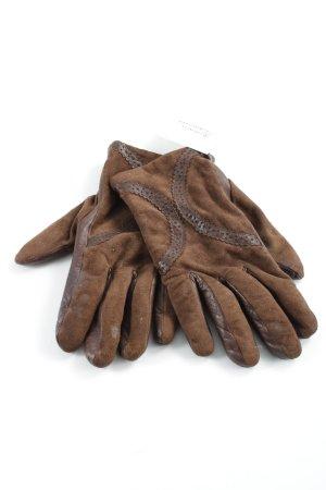 Roeckl Leren handschoenen bruin elegant