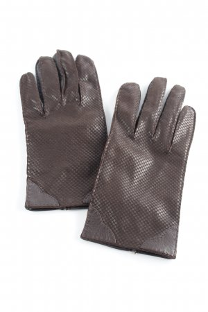 Roeckl Leather Gloves dark brown casual look