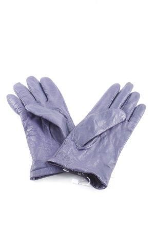 Roeckl Lederhandschuhe dunkelviolett Casual-Look
